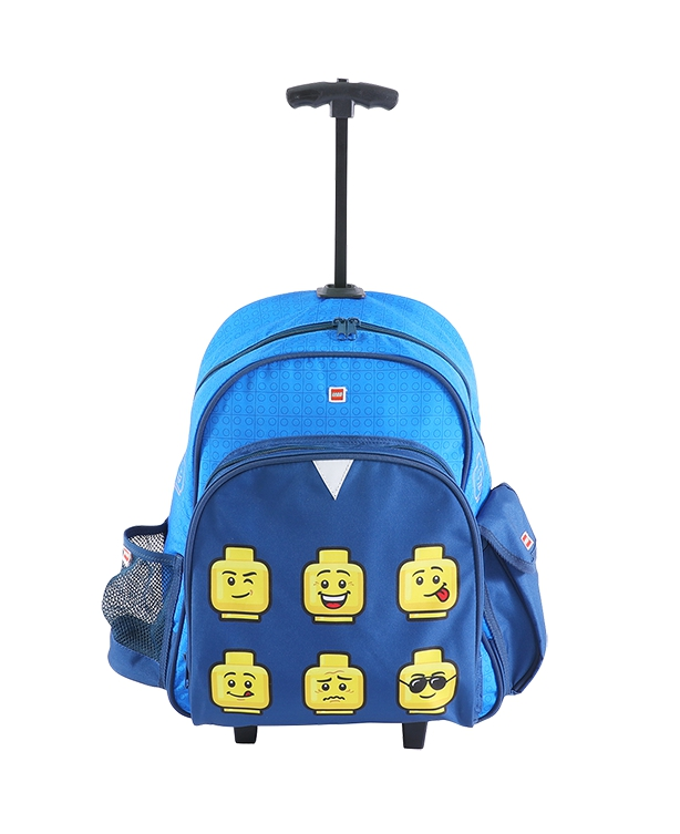 LEGO Faces Blue - Trolley batoh