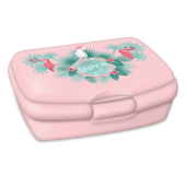 Box na desiatu Pink Flamingo