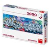 Grafitti 2000 panoramic puzzle