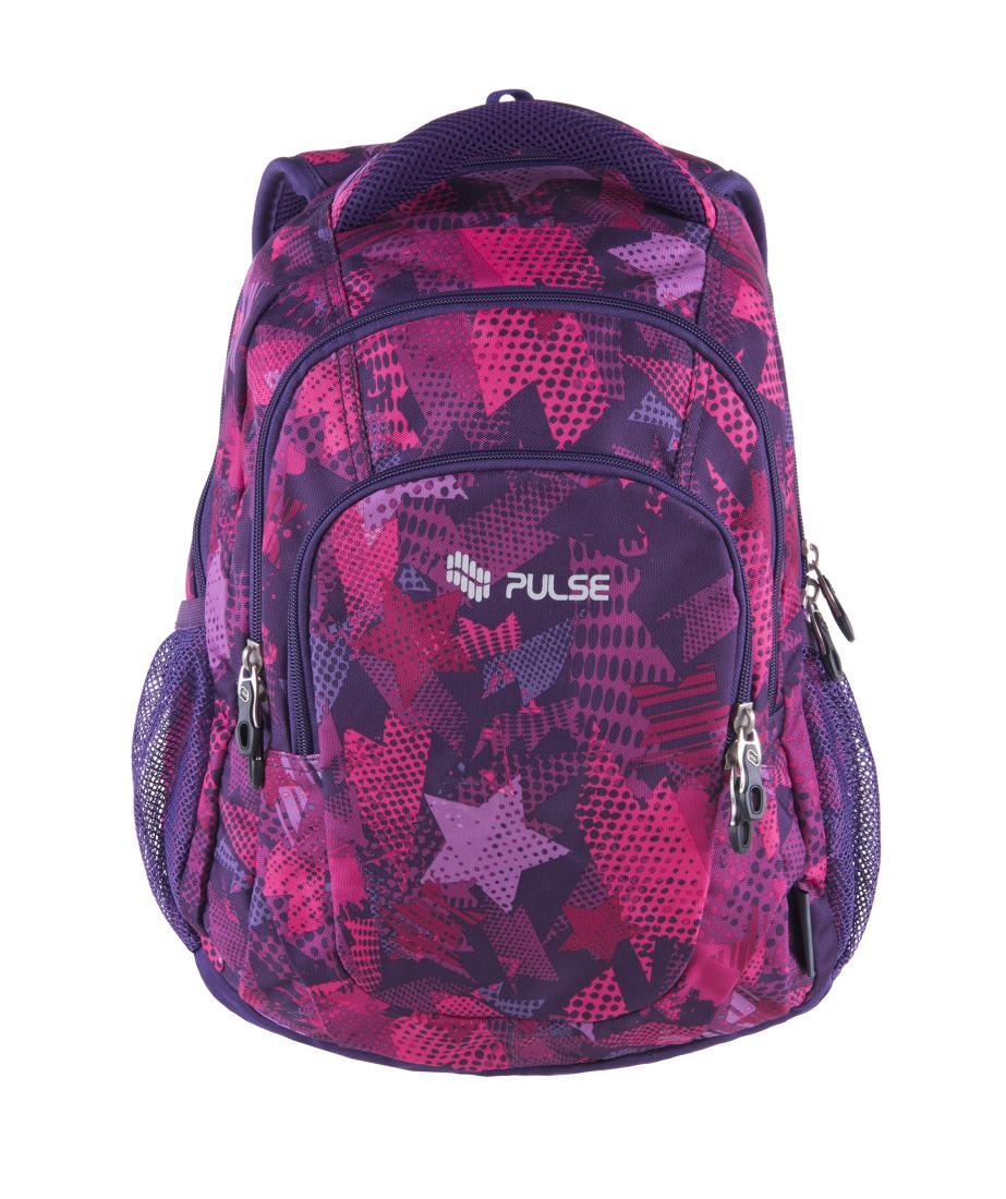 22a0570fdb Pulse školský batoh teens violet stars