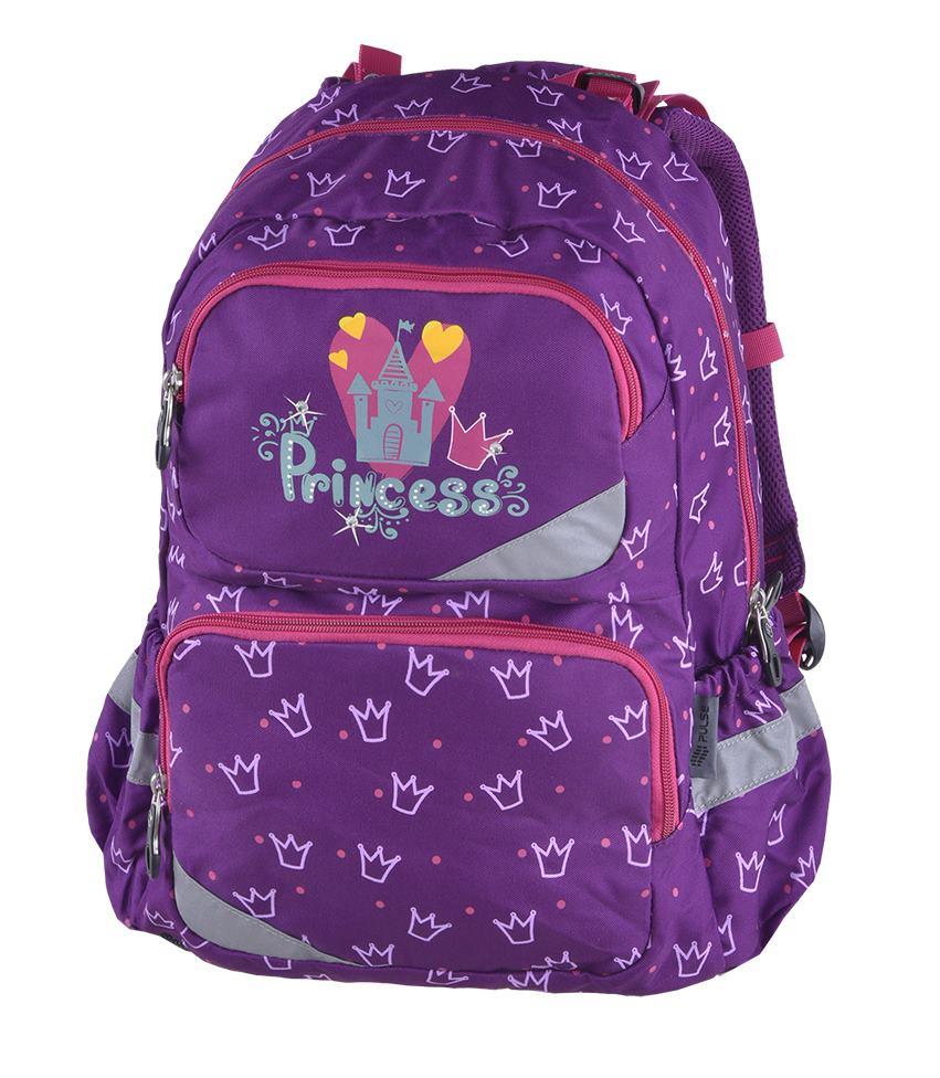 49d5a9c076c41 Pulse školský anatomický batoh princess diamond | Anatomické školské ...